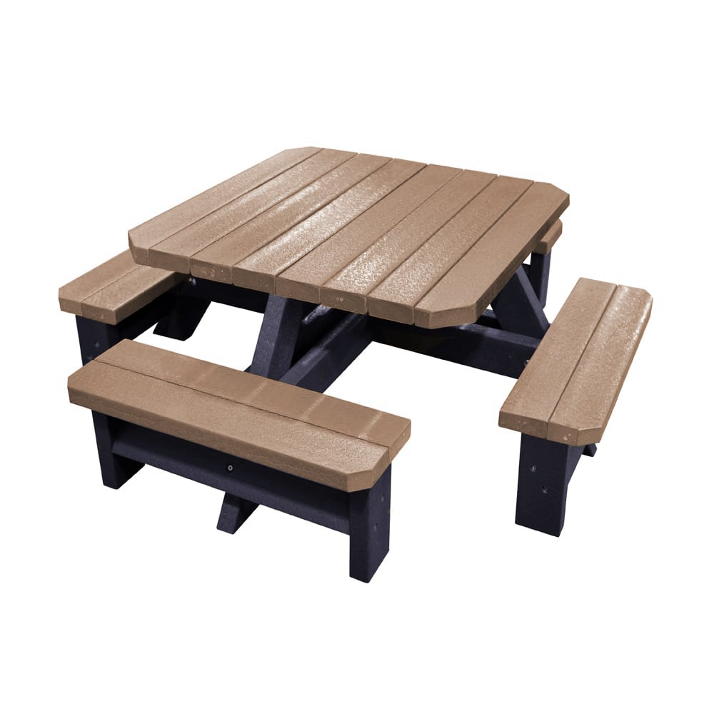 Epworth Infant Picnic Bench Brown