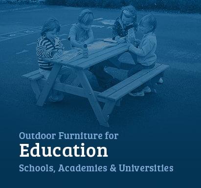 outdoor furniture for schools