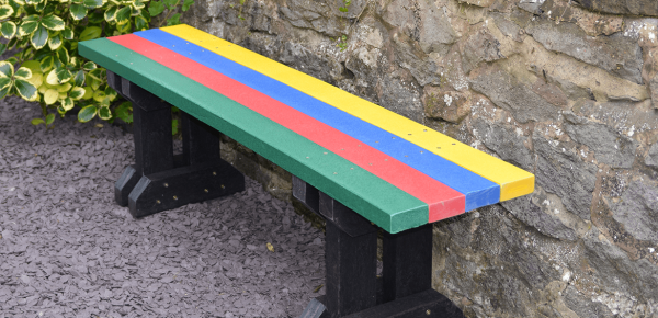 colourful anchor fast bench