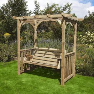 devon garden swing arbour