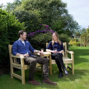 tiverton companion garden bench