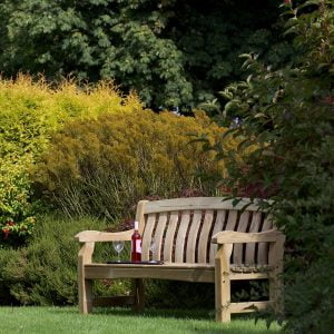 devon deluxe 3 seater garden bench