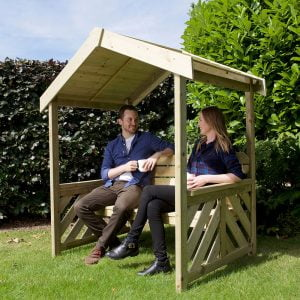 exmouth roofed arbour