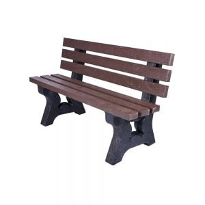 brown carlton bench