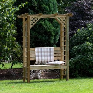dartmouth curved arch with seat