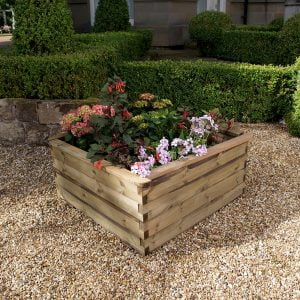 jedburgh raised bed planter