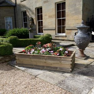 peebles raised planter