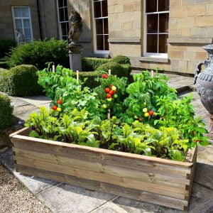 peebles raised bed planter