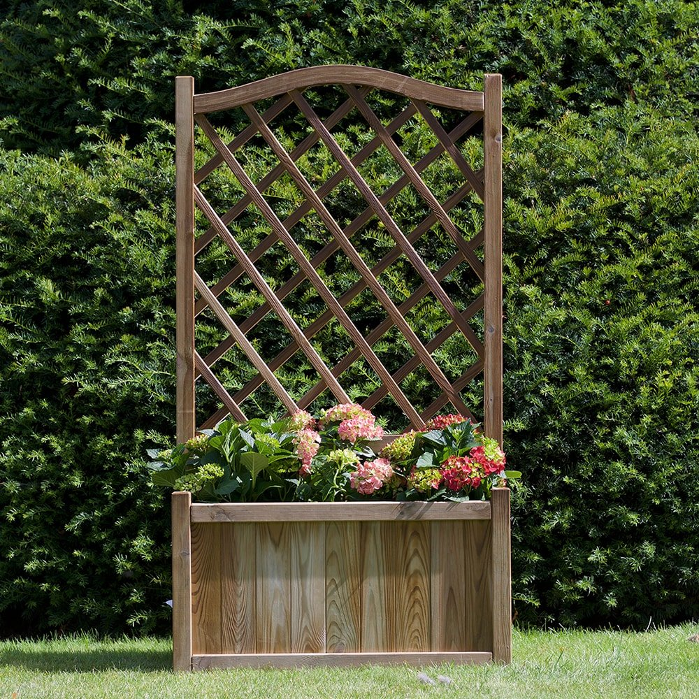 Melrose Planter with Trellis | Anchor Fast