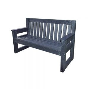 black lindrick bench