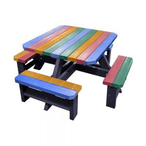 Epworth Junior Multi Picnic Bench no parasol