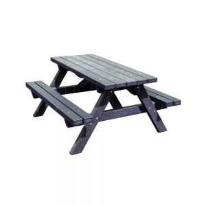 Branton Picnic Bench Black