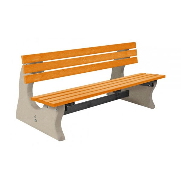 park-bench-yellow-top-plain-base-2