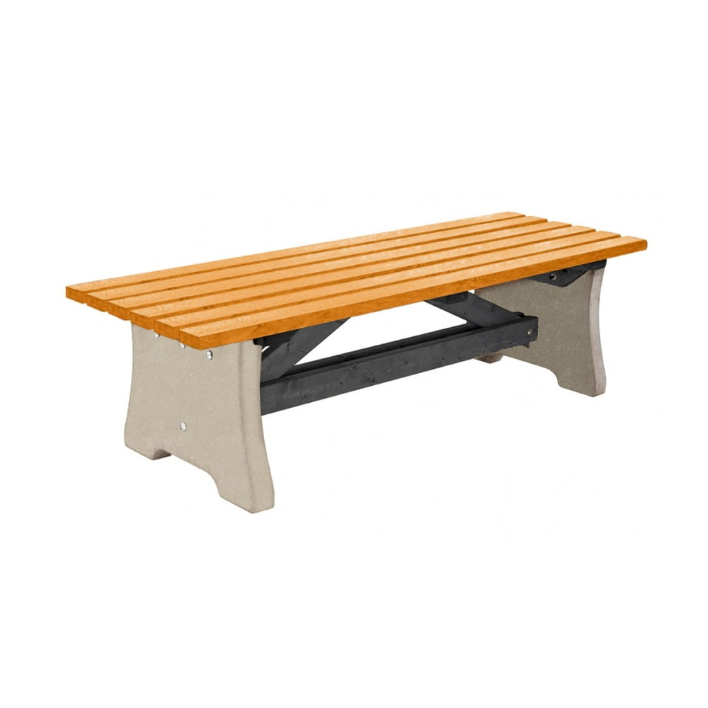 Pennine Bench Recycled Plastic Yellow